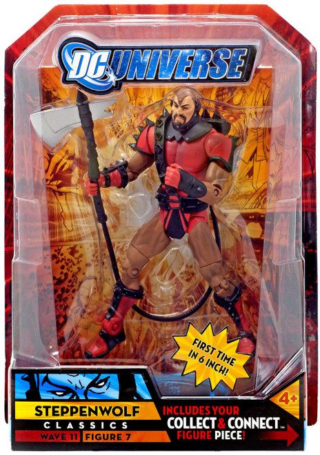 DC Universe Classics Kilowog Series Steppenwolf Action Figure #7 [Red]