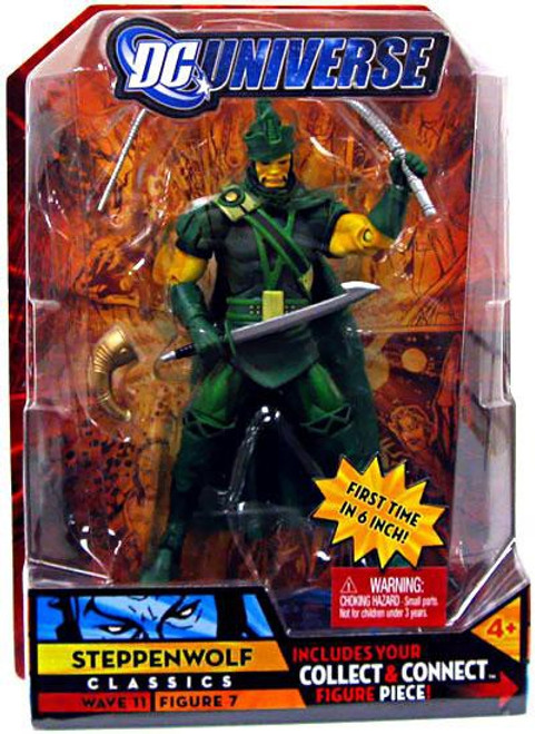 DC Universe Classics Kilowog Series Steppenwolf Action Figure #7 [Green]
