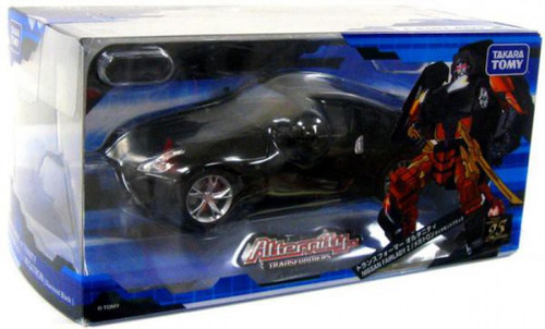 Transformers Japanese Alternity Nissan Fairlady Z Megatron Action Figure A-02 [Diamond Black]