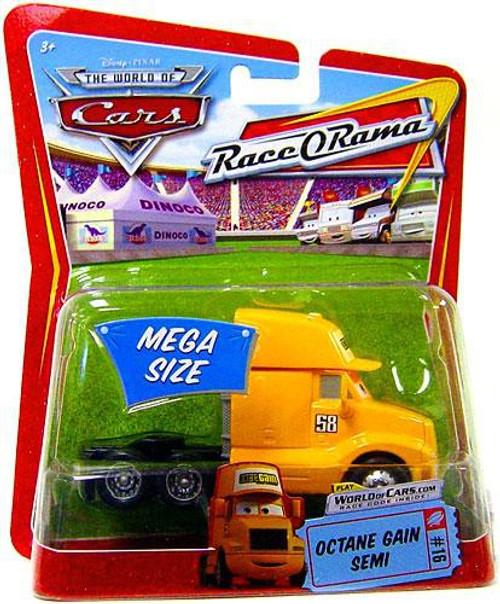 Disney / Pixar Cars The World of Cars Race-O-Rama Octane Gain Semi Diecast Car #16