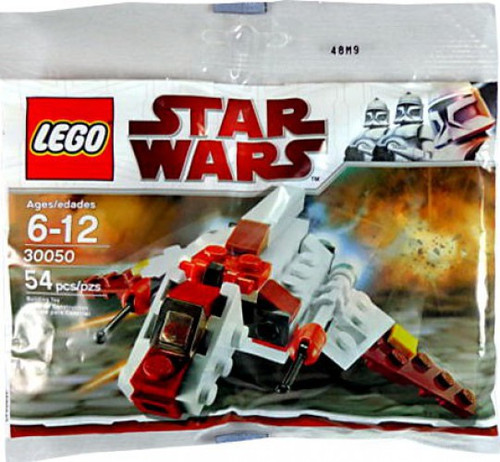 LEGO Star Wars The Clone Wars Republic Attack Shuttle Exclusive Mini Set #30050 [Bagged]