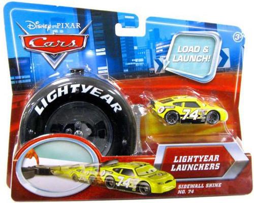 Disney / Pixar Cars Lightyear Launchers Sidewall Shine No. 74 Diecast Car