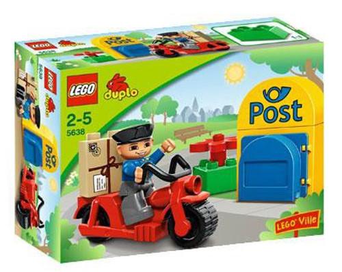 Duplo Lego Ville Postman Set #5638