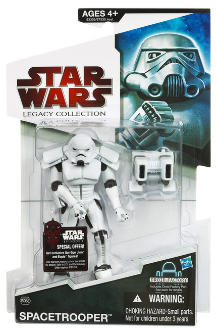 Star Wars Expanded Universe 2009 Legacy Collection Droid Factory Spacetrooper Action Figure BD58 [New Helmet]