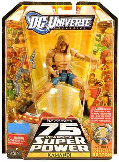 DC Universe 75 Years of Super Power Classics Ultra Humanite Series Kamandi Exclusive Action Figure