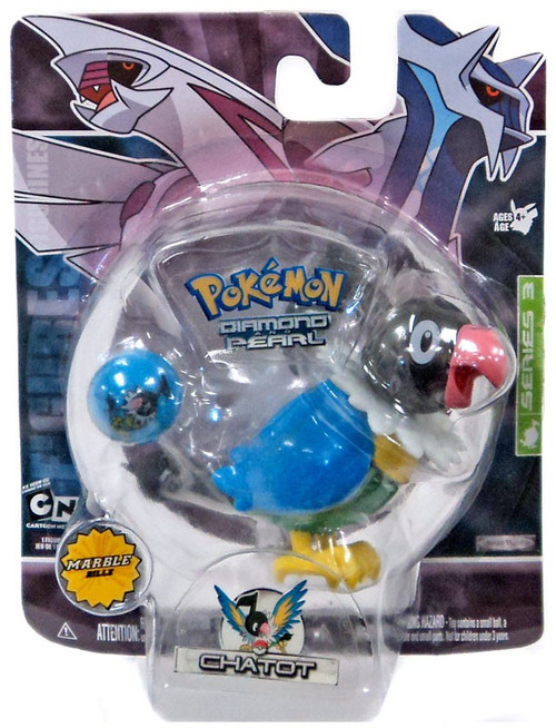 Pokemon Diamond & Pearl Series 3 Chatot Figure