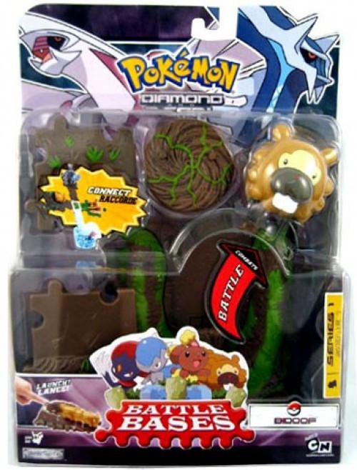 Pokemon Diamond & Pearl Battle Bases Series 1 Bidoof Figure