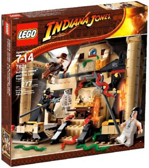 LEGO Indiana Jones and the Lost Tomb Set #7621