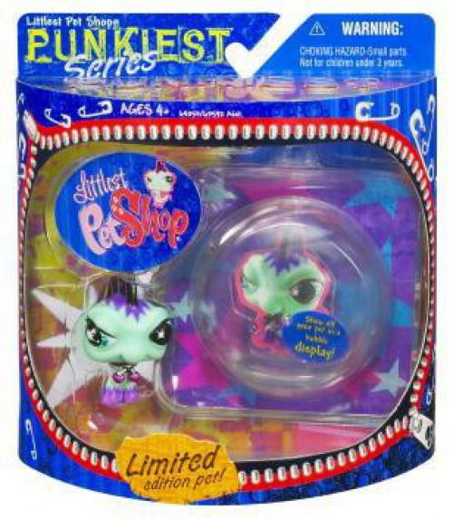 Littlest Pet Shop Punkiest Series 1 Iguana Figure