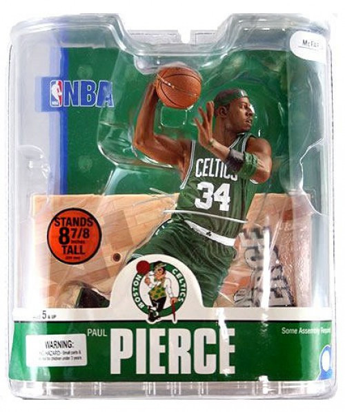 McFarlane Toys NBA Boston Celtics Sports Picks Series 13 Paul Pierce Action Figure [Green Jersey Variant]