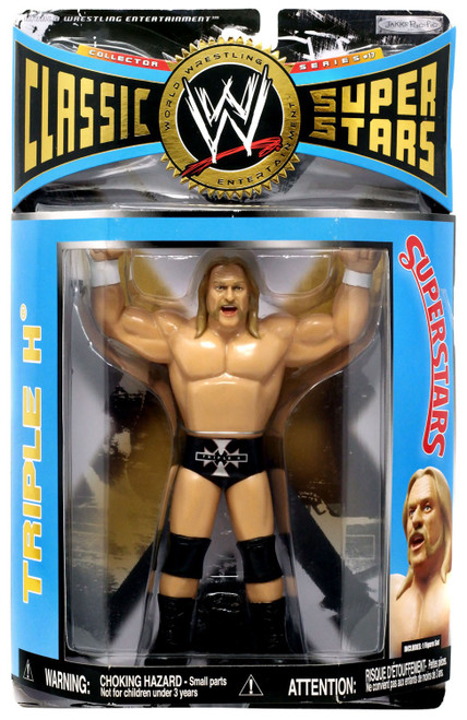 WWE Wrestling Classic Superstars Series 17 Triple H Action Figure