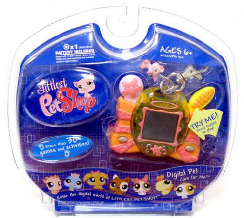 Littlest Pet Shop Digital Pets Pig Digital Pet Electronic Toy