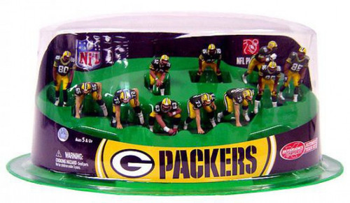 McFarlane Toys NFL Sports Picks Ultimate Team Sets Green Bay Packers Offense 2-Inch Team Set