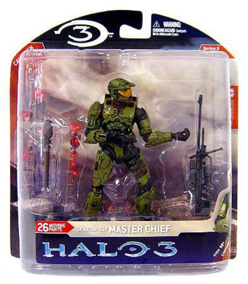 McFarlane Toys Halo 3 Series 3 Spartan-117 Master Chief Action Figure