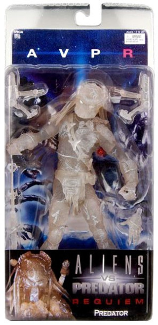 NECA Alien vs Predator AVP Requiem Series 3 Predator Action Figure [Cloaking Wolf]