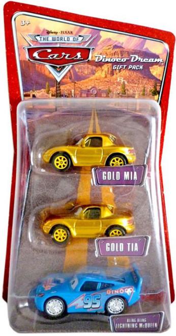 Disney / Pixar Cars Multi-Packs Bling Bling Lightning McQueen Diecast Car 3-Pack