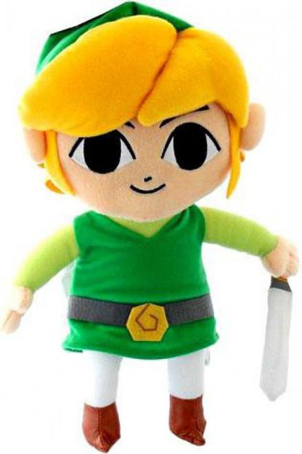 Nintendo The Legend of Zelda Phantom Hourglass Link 12-Inch Plush Figure