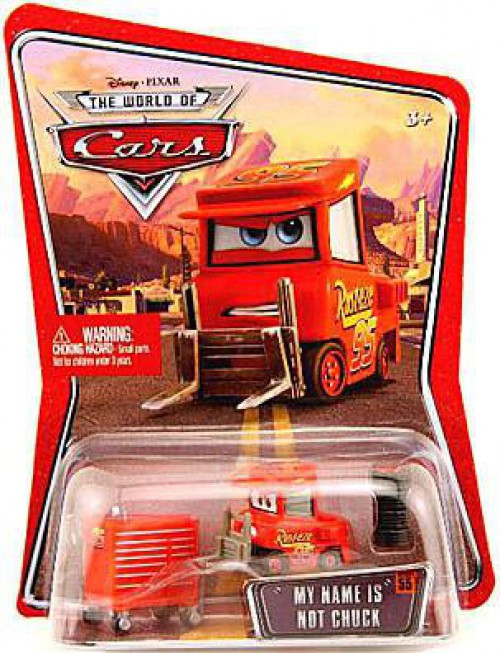 Disney / Pixar Cars The World of Cars Series 1 My Name is Not Chuck Diecast Car