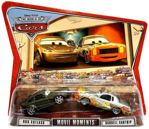 Disney / Pixar Cars The World of Cars Movie Moments Bob Cutlass & Darrell Cartrip Diecast Car 2-Pack