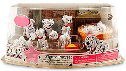 Disney 101 Dalmatians Exclusive 10-Piece PVC Figure Play Set