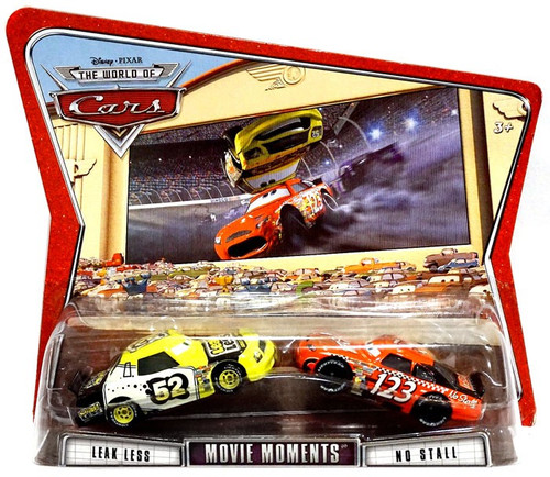 Disney / Pixar Cars The World of Cars Movie Moments Leak Less & No Stall Diecast Car 2-Pack