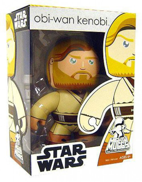 Star Wars Revenge of the Sith Mighty Muggs Wave 2 Obi-Wan Kenobi Vinyl Figure