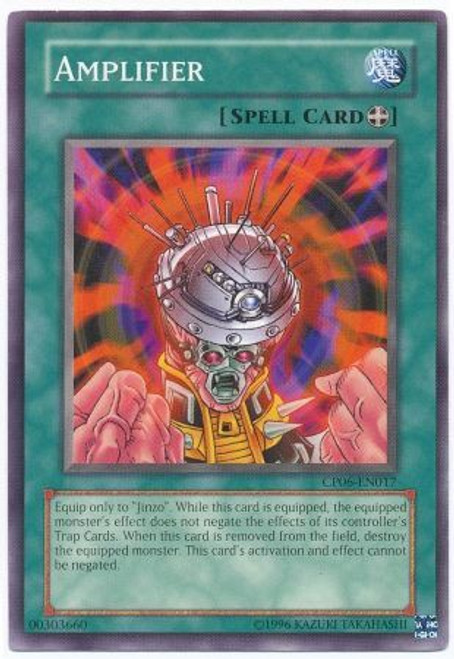 YuGiOh GX Trading Card Game Champion Pack: Game 6 Common Amplifier CP06-EN017