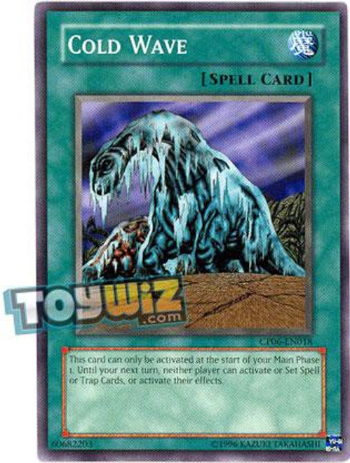 YuGiOh GX Trading Card Game Champion Pack: Game 6 Common Cold Wave CP06-EN018