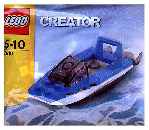 LEGO Creator Speed Boat Mini Set #7610 [Bagged]