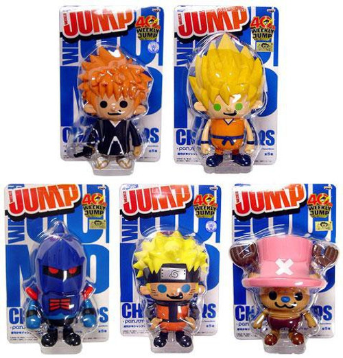 Shonen Jump Weekly Jump Series 3 Set of 5 PVC Figures