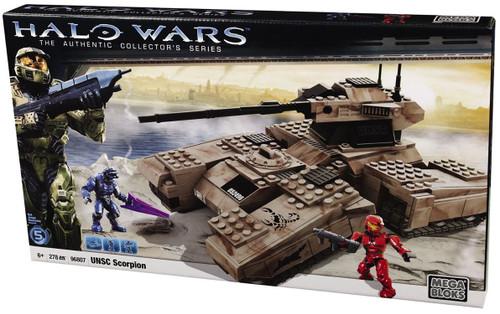 Mega Bloks Halo UNSC Scorpion Tank Set #96807
