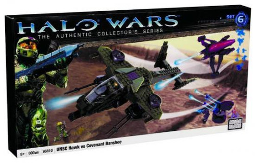 Mega Bloks Halo UNSC Hawk vs. Covenant Banshee Set #96810