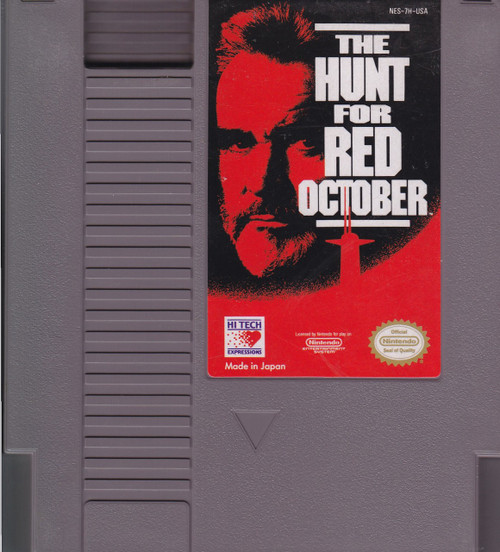 Nintendo NES The Hunt for Red October Video Game Cartridge [Played Condition]