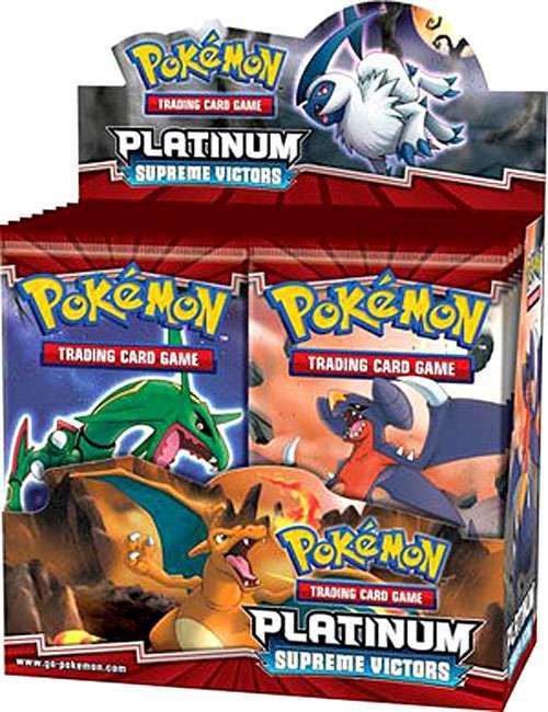 Pokemon Trading Card Game Platinum Supreme Victors Booster Box [36 Packs]