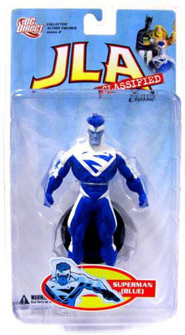 DC JLA Classified Classic Series 2 Superman Action Figure [Blue]