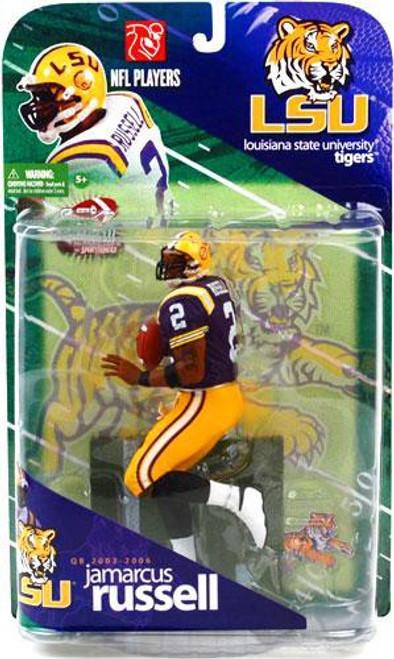 McFarlane Toys NCAA College Football Sports Picks JaMarcus Russell Action Figure [Purple Jersey Variant]