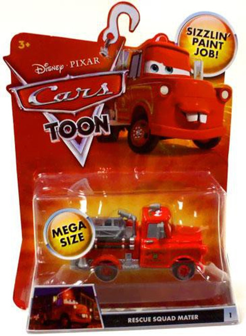 Disney / Pixar Cars Cars Toon Deluxe Oversized Rescue Squad Mater Diecast Car