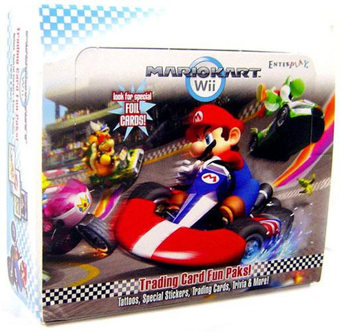 Super Mario Mario Kart Wii Trading Card Box [24 Packs]