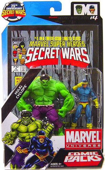 Marvel Universe Hulk & Cyclops Action Figure 2-Pack #4