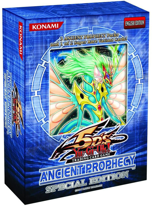 YuGiOh Trading Card Game Ancient Prophecy Special Edition [3 Booster Packs & 1 Random Promo Card!]