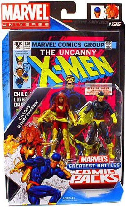 Marvel Universe Cyclops & Dark Phoenix Action Figure 2-Pack