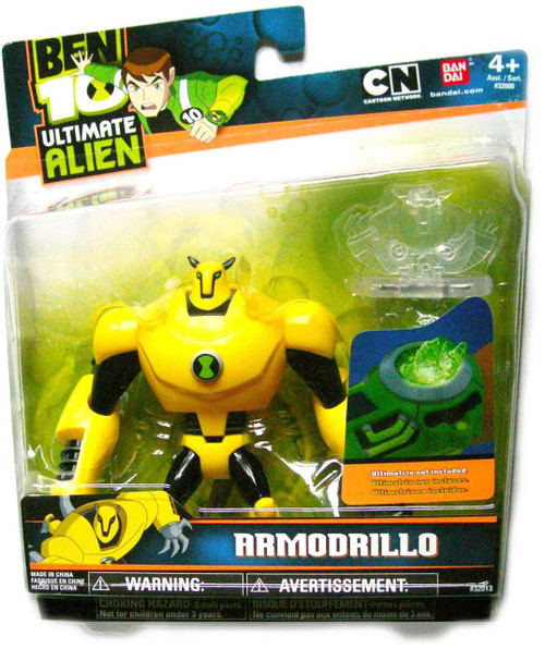 Ben 10 Ultimate Alien Armodrillo Action Figure