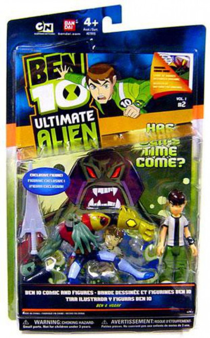 Ben 10 Ultimate Alien Ben Tennyson & Vilgax Action Figure 2-Pack
