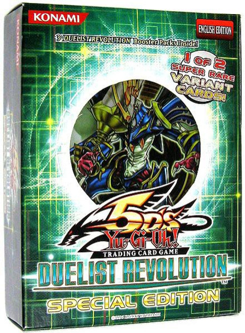 YuGiOh Trading Card Game Duelist Revolution Special Edition [3 Booster Packs & 1 Random Promo Card]