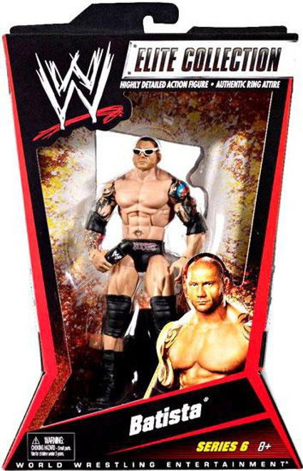WWE Wrestling Elite Collection Series 6 Batista Action Figure