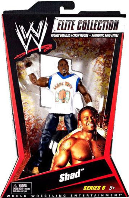 WWE Wrestling Elite Collection Series 6 Shad Action Figure