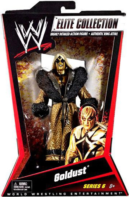 WWE Wrestling Elite Collection Series 6 Goldust Action Figure