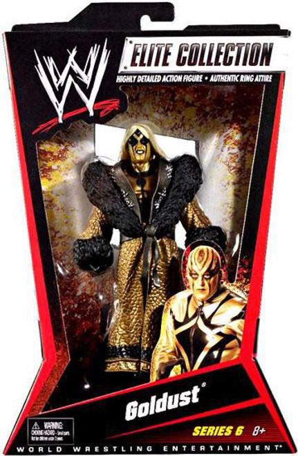 WWE Wrestling Elite Collection Series 6 Goldust Action Figure