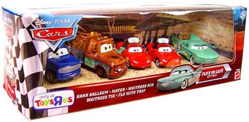 Disney / Pixar Cars Multi-Packs Flo's V8 Cafe Exclusive Diecast Car Set