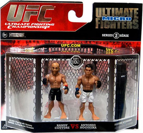 UFC Ultimate Micro Fighters Series 2 Randy Couture vs. Antonio Nogueira Mini Figure 2-Pack